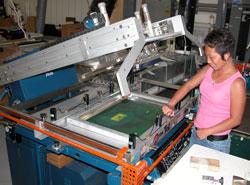 Screen Printing at Serigraphic Screen Print, La Crosse, WI